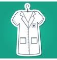 Nurse doctor or other medical staff uniform vector image