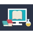 Online education vector image vector image