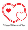 romantic love symbol of valentine day vector image