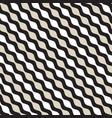 seamless geometric pattern monochrome wavy vector image vector image