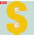 Time is money - - EPS10 vector image