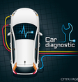Car Diagnostics Device vector image