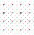 christmas seamless pattern merry christmas and vector image vector image
