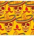 Cinco de Mayo Seamless Pattern vector image
