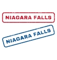 Niagara Falls Rubber Stamps vector image