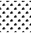 Santa hat pattern simple style vector image