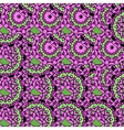 Violet coloured oriental ornate seamless pattern vector image vector image