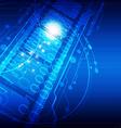 digital concept technology background vector image vector image