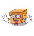 geek caramel candies character cartoon vector image vector image