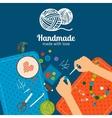 Kids handmade vector image vector image