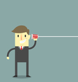 Listen to Business vector image vector image