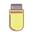 technology usb memory with data information vector image