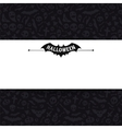 White Paper Sheet on Dark Halloween Background vector image vector image