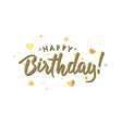 birthday2g vector image vector image