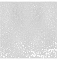 gray fine mesh background with spots and speckles vector image