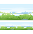 Meadows Game Background vector image
