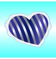Pillow heart vector image vector image