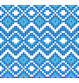 seamless pattern or ornament of embroidery vector image vector image