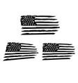 usa flag distressed american flag military army vector image