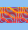 abstract background with wavy lines cover design vector image