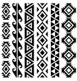 aztec tribal seamless pattern designs vector image vector image