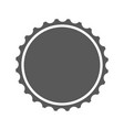 beer cap icon simple vector image
