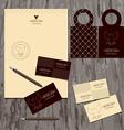 brandbook of the company vector image
