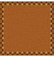 Brown background vector image vector image