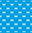 implant pattern seamless blue vector image vector image