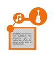 music sound infographic vector image vector image
