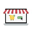 online buy store vector image vector image