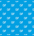 wedding rings pattern seamless blue vector image