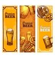Beer Banner Vertical vector image vector image