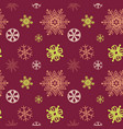 christmas festive seasonal seamless pattern vector image vector image