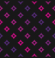 colorful geometric seamless pattern with pink and vector image