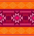 folk ornamental textile pattern vector image vector image