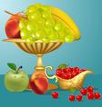 Fruits Still life vector image
