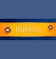 happy raksha bandhan traditional sale banner