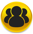 icon with figures symbol character avatar icon vector image vector image
