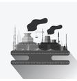 industrial factory v9 vector image