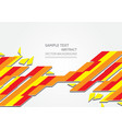 multi colour abstract background modern design vector image