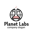 Planet Labs Design vector image vector image