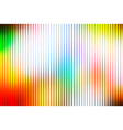 rainbow abstract with light lines blurred vector image vector image