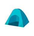 set of tourist tents collection camping tent vector image vector image