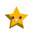 star cute cartoon vector image vector image