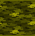 khaki military camouflage seamless pattern army vector image