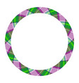 Circle borders and frames round border pattern