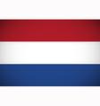 National flag of Netherlands vector image vector image