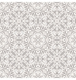 Seamless pattern with ethnic lace ornament vector image vector image