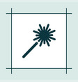 sparkler icon simple vector image vector image